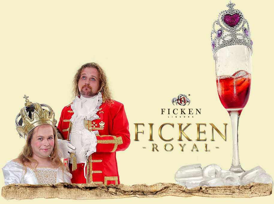 FICKEN Cocktail: FICKEN Royal